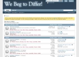 webegtodiffer.com