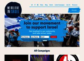 webelieveinisrael.org