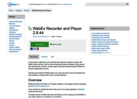 webex-recorder-and-player.updatestar.com
