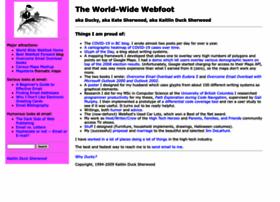 webfoot.com