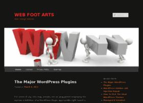 webfootarts.com