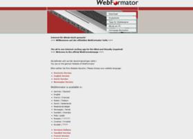 webformator.de