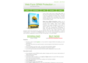 webformspamprotection.com