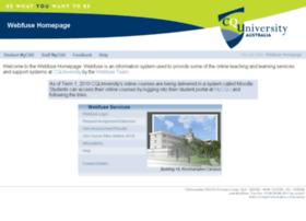 webfuse.cqu.edu.au