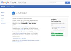 webgl-loader.googlecode.com