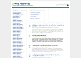 webhipotecas.es