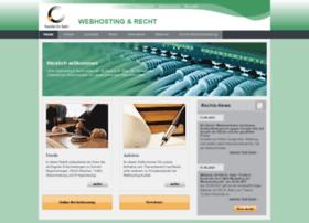 webhosting-und-recht.de