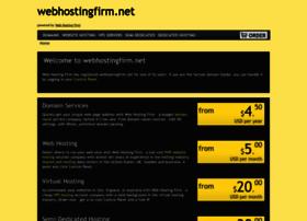webhostingfirm.net