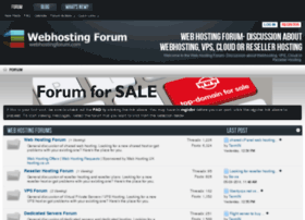 webhostingforum.com