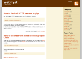 webilyst.com