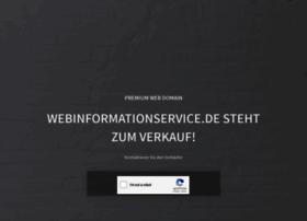 webinformationservice.de
