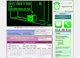 webkalenderen.no
