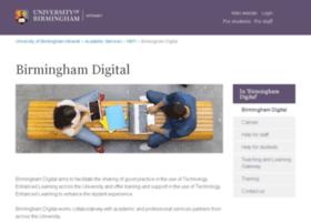 weblearn.bham.ac.uk