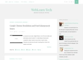 weblearntech.blogspot.com