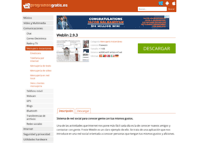 weblin.programasgratis.es