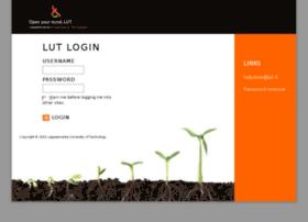 weblogin.lut.fi
