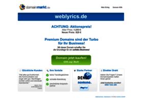 weblyrics.de
