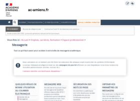webmail.ac-amiens.fr