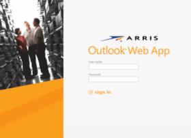 webmail.arris.com