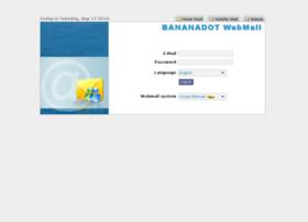 webmail.bananadot.com