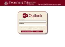 webmail.bloomu.edu