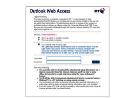 webmail.bt.com