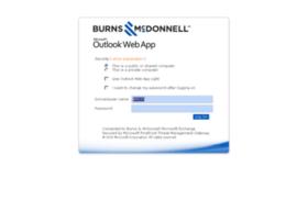 webmail.burnsmcd.com