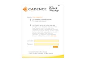 webmail.cadenceinc.com