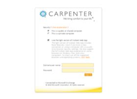 webmail.carpenter.com