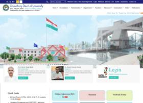 webmail.cdlu.ac.in