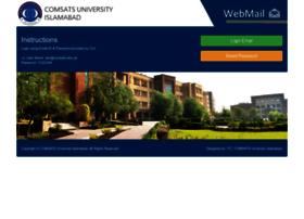 webmail.comsats.edu.pk