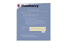 webmail.dewberry.com