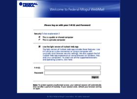 webmail.federalmogul.com