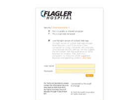 webmail.flaglerhospital.org