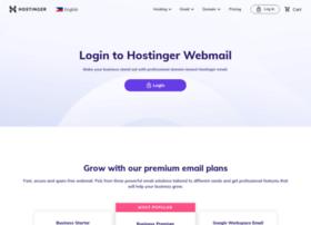 webmail.hostinger.ph