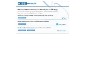 webmail.htmldesign.de