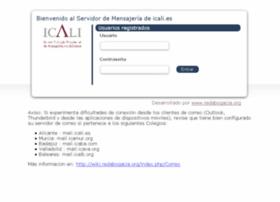 webmail.icali.es