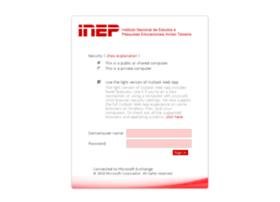 webmail.inep.gov.br