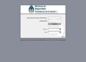 webmail.minseg.gob.ar