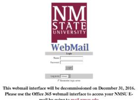 webmail.nmsu.edu