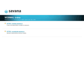 webmail.savana.cz