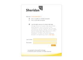 webmail.sheridan.com