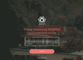 webmail.shirazu.ac.ir