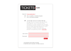 webmail.tickets.com