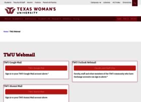 webmail.twu.edu