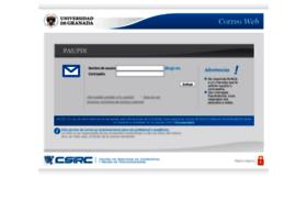 Webmail.ugr.es