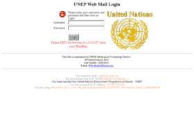 webmail.unep.org