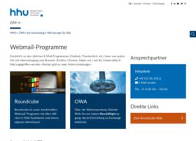 webmail.uni-duesseldorf.de