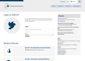 webmail.uni-potsdam.de