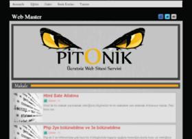 webmaster.pitonik.com